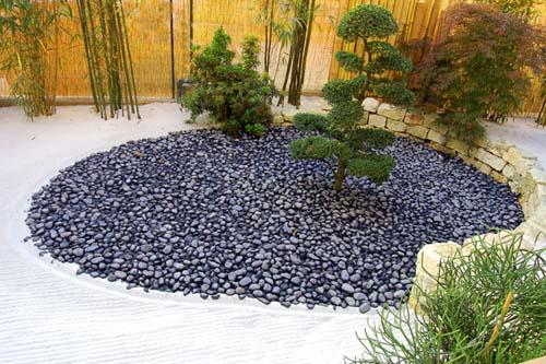 giardini zen - Piccolo Giardino Con Ghiaia