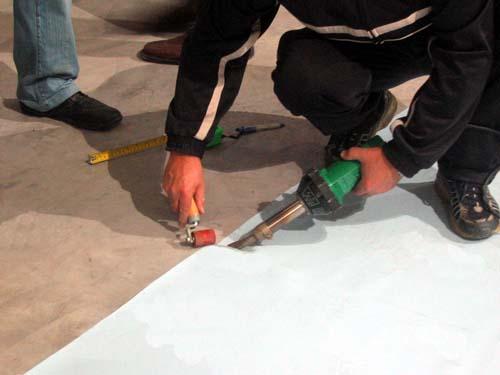 Saldatura ad aria calda - Air welding